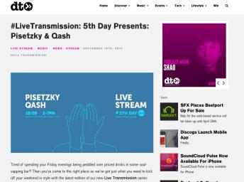 DATA TRANSMISSION LIVE