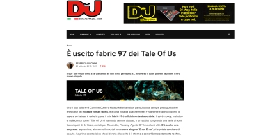 DJ MAG FABRIC COMPILATION